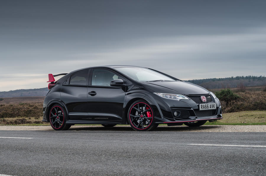 2017 honda civic type r black edition review autocar. Black Bedroom Furniture Sets. Home Design Ideas