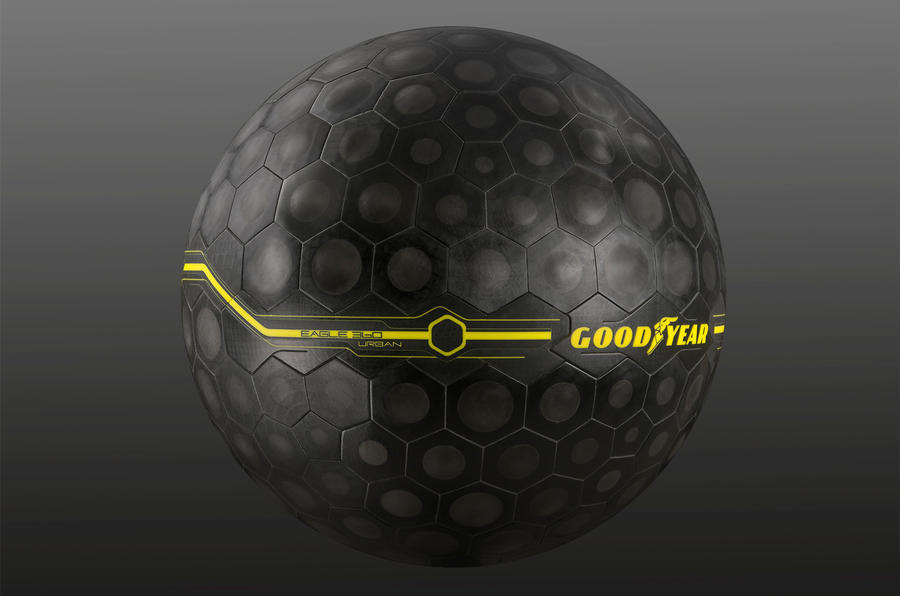 Goodyear 360 spherical tyre