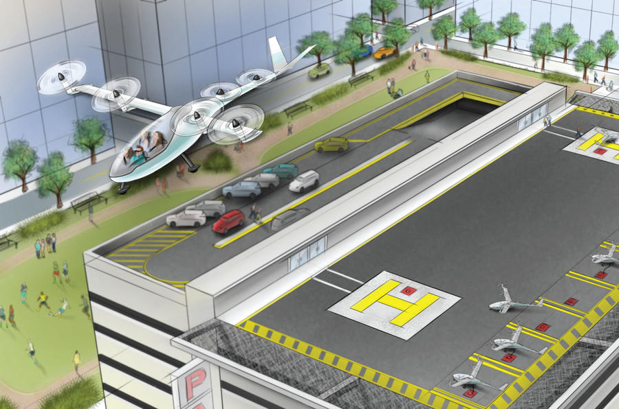 Uber are devloping on-demand urban air transportation