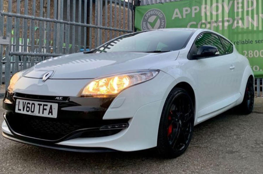 Renault Megane RS 2010 - one we found