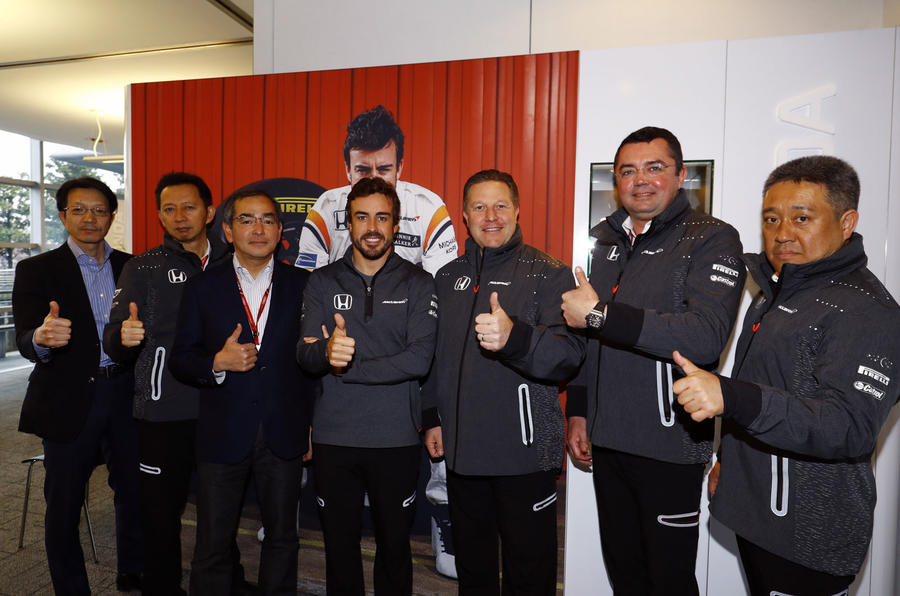 McLaren and Fernando Alonso to race in 2017 Indy 500