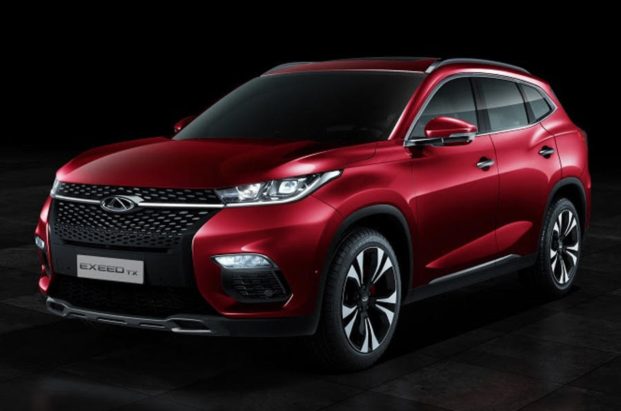 Plug In Hybrid Suv >> Chery Exeed TX confirmed as first Europe-bound Chinese SUV | Autocar