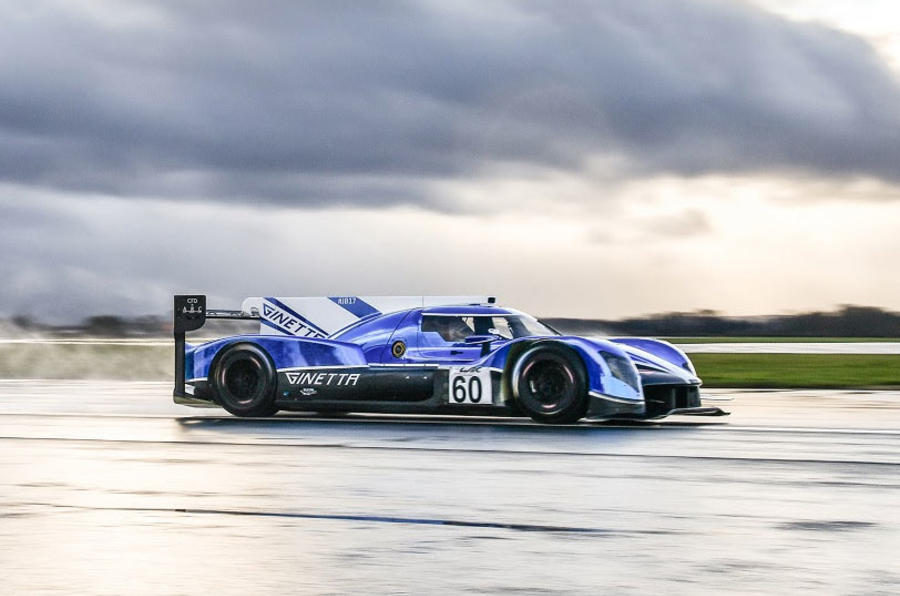 New Ginetta Le Mans car: new video of LMP1 racer high-speed testing