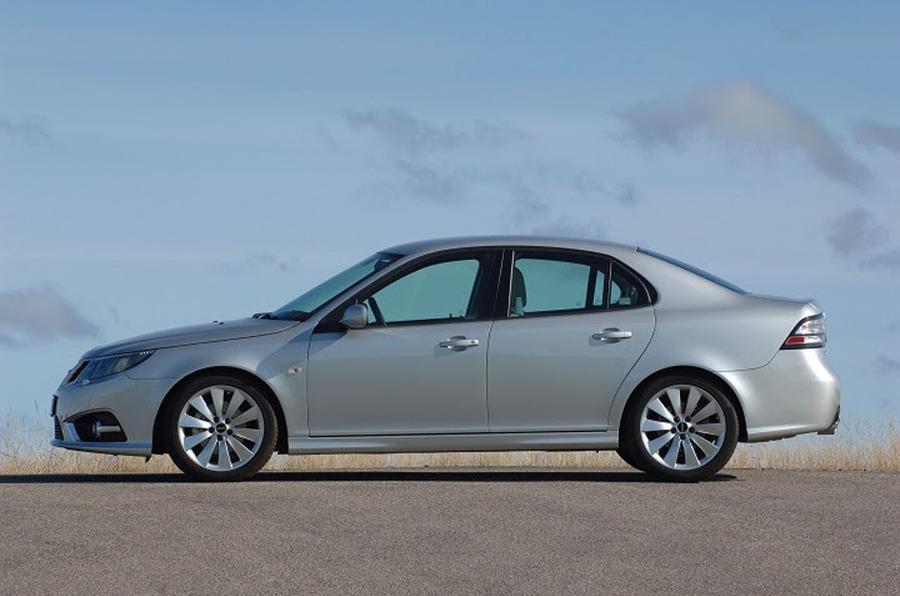 2013 Saab 9-3 - side
