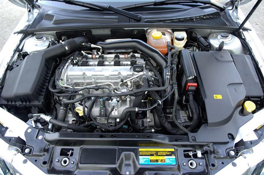 2013 Saab 9-3 - engine