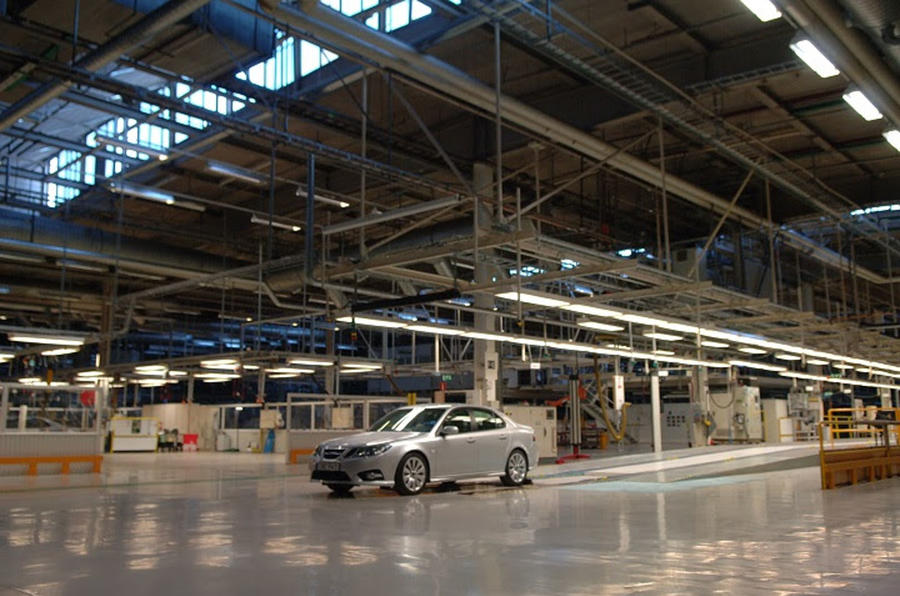 2013 Saab 9-3 - in factory