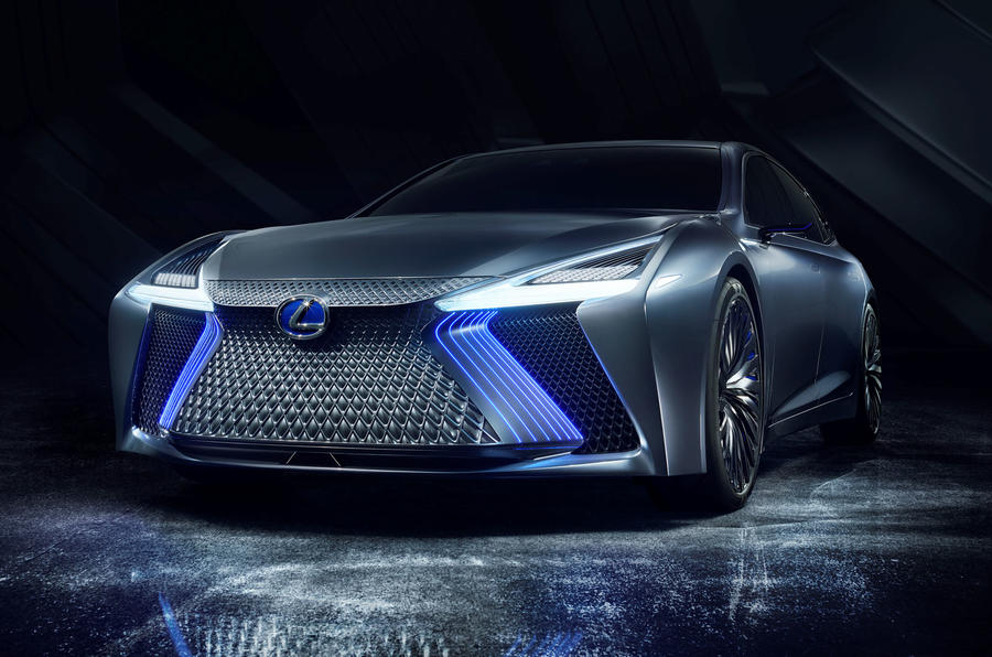 Lexus LS+ Concept previews fully autonomous urban driving within 10 years