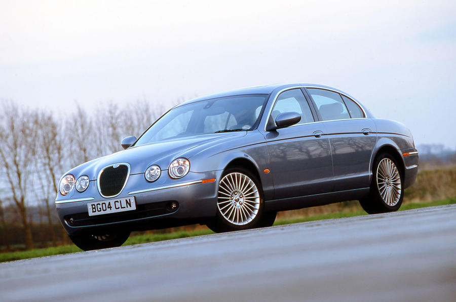 Jaguar S-Type R static