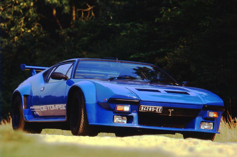 Original De Tomaso Pantera - front