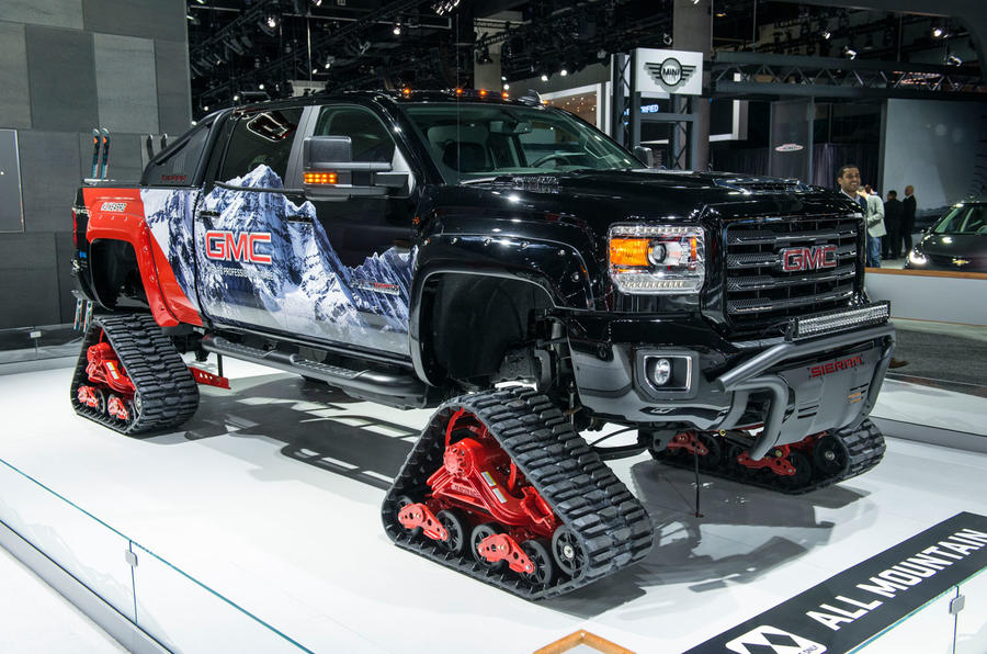 GMC SIERRA 2500HD ALL-TERRAIN CONCEPT