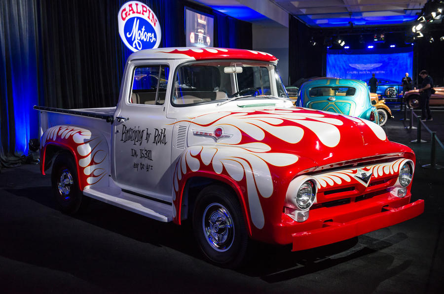 FORD F100 SHOP TRUCK