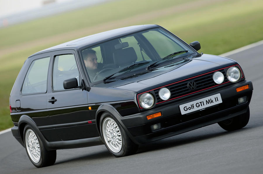 Used buying guide: Volkswagen Golf GTI Mk2 - cornering front