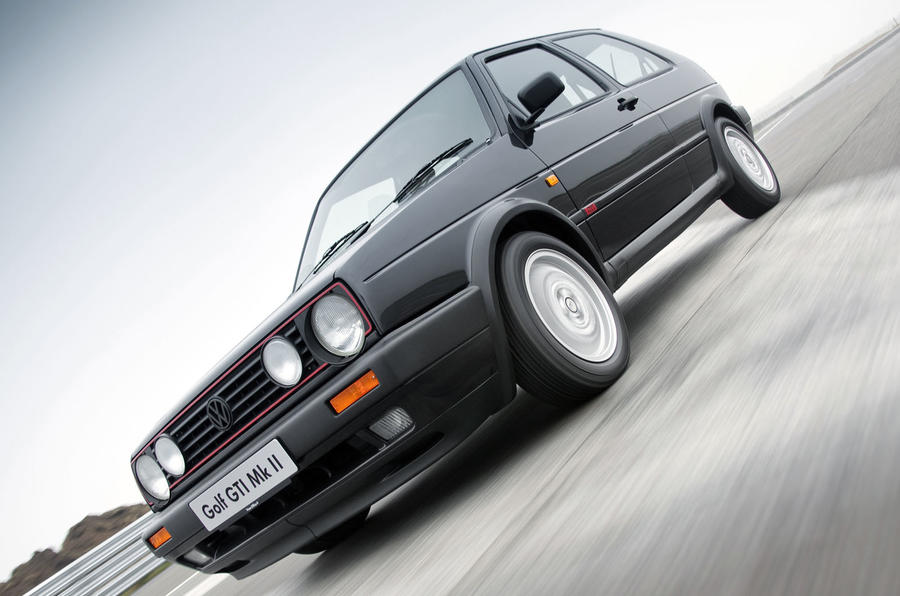 Used buying guide: Volkswagen Golf GTI Mk2 - on the road front