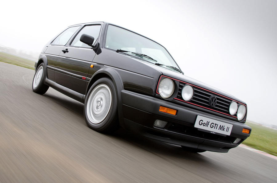 Used buying guide: Volkswagen Golf GTI Mk2 - tracking front