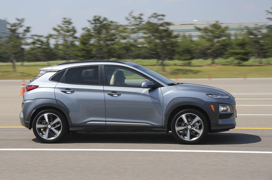 Hyundai Kona side profile