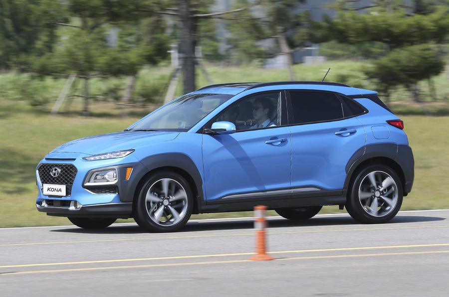 Hyundai Kona 1.6 T-GDi prototype