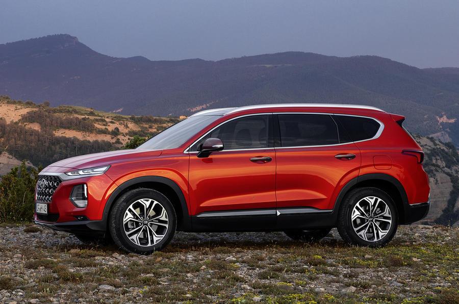Hyundai Santa Fe 2018 first drive review static side