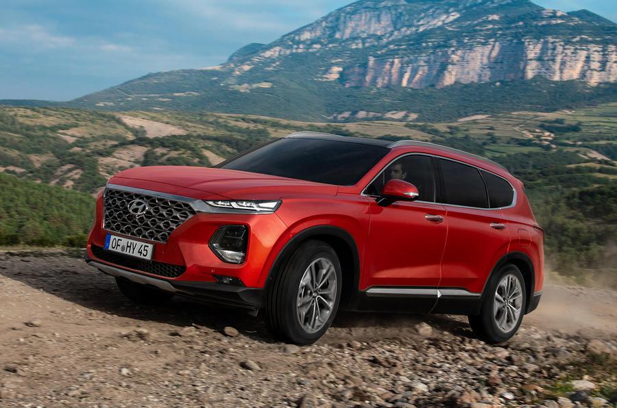 Hyundai Santa Fe 2018 first drive review off-road