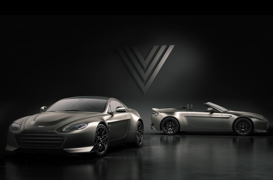 Limited-run Aston Martin Vantage V600 revealed with naturally aspirated V12
