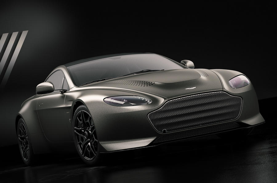 Aston Martin V12 Vantage V600 edition recreates an icon