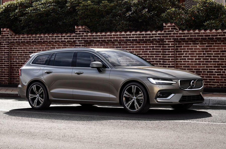 Volvo V60 estate unveiled ahead of Geneva motor show