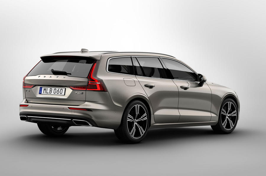 volvo v60 estate priced from 31 810 autocar. Black Bedroom Furniture Sets. Home Design Ideas