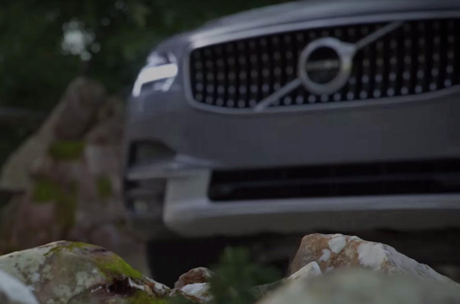 Volvo V90 Cross Country teased on video