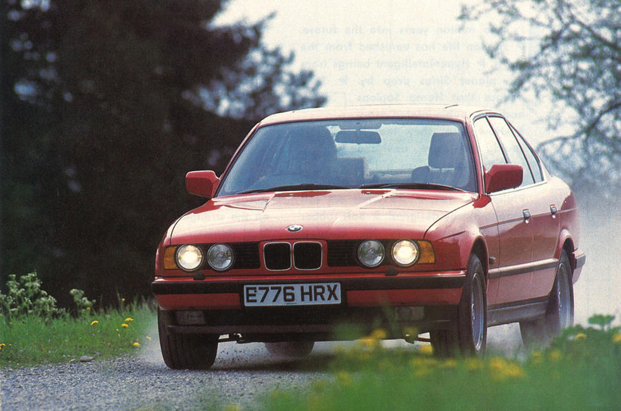 throwback thursday 1988 bmw 535i first drive autocar. Black Bedroom Furniture Sets. Home Design Ideas