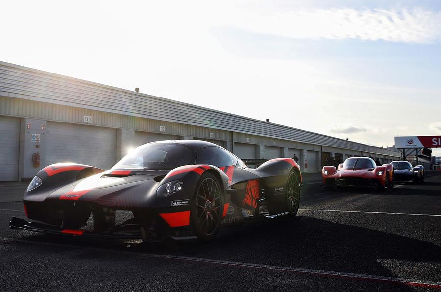 2020 Aston Martin Valkyrie prototype - front