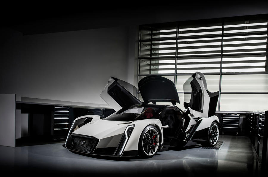 Vanda debuts 200mph quad-motor electric hypercar at the Geneva Motor Show