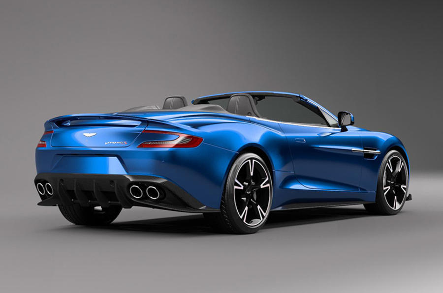 Aston Martin Vanquish S - first pics of Volante drop-top