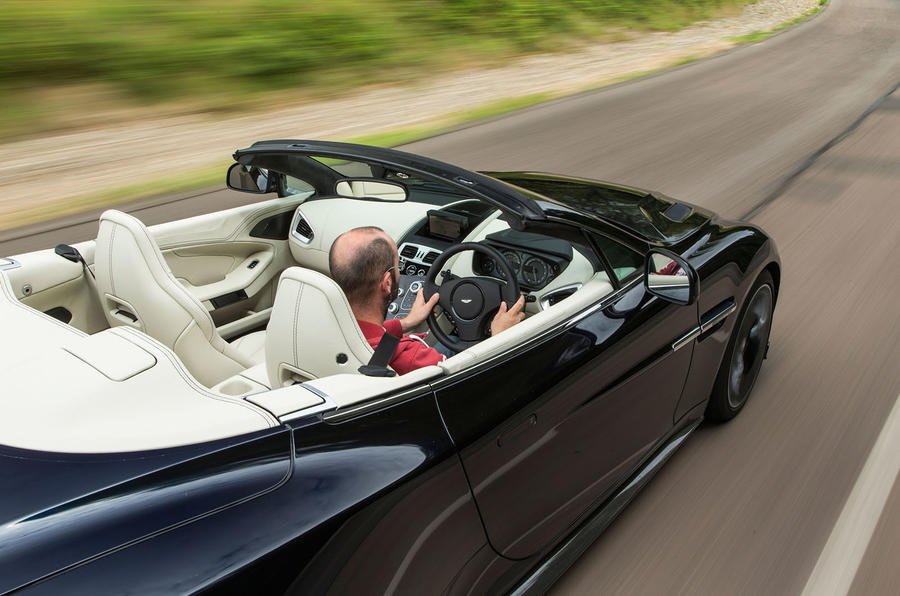 Driving the Aston Martin Vanquish S Volante