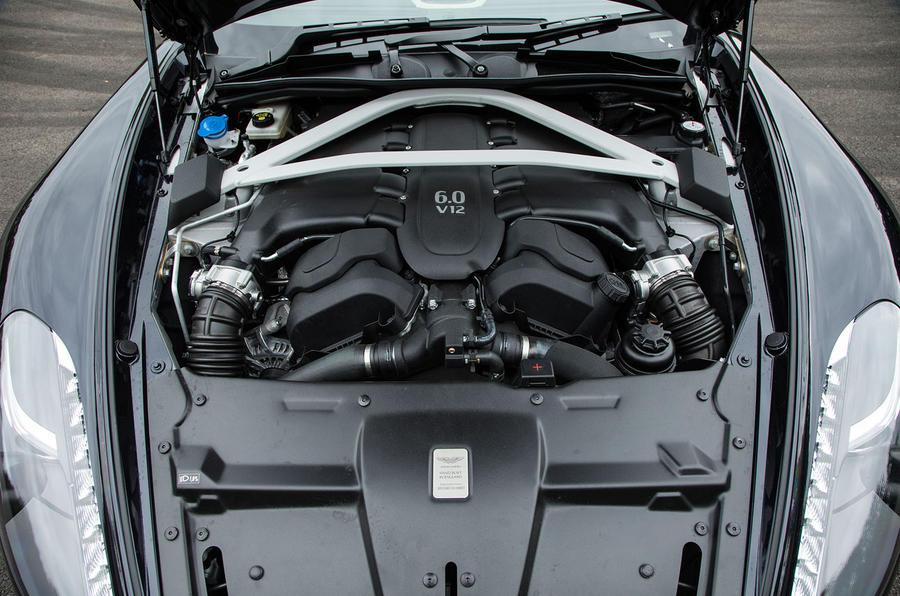 5.9-litre V12 Aston Martin Vanquish S Volante engine