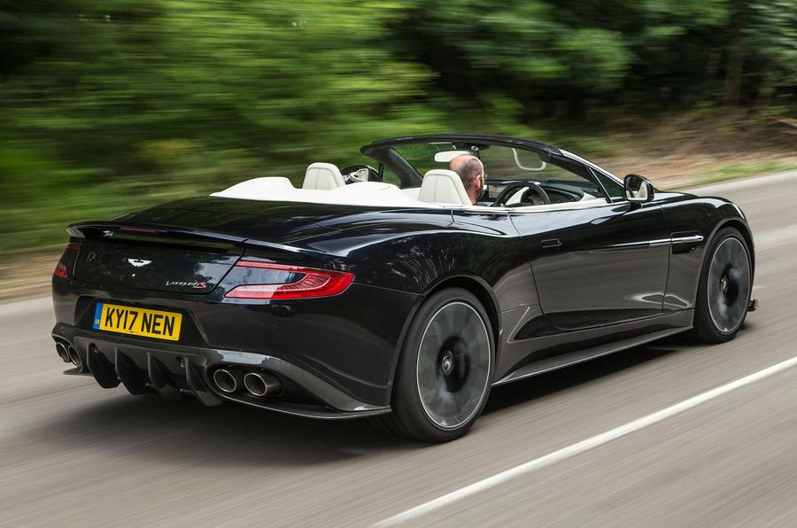 Aston Martin Vanquish S Volante 2017 review | Autocar