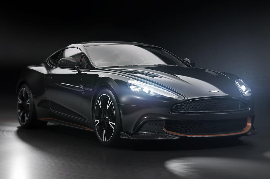 Aston Martin Vanquish S Ultimate revealed as swan-song model