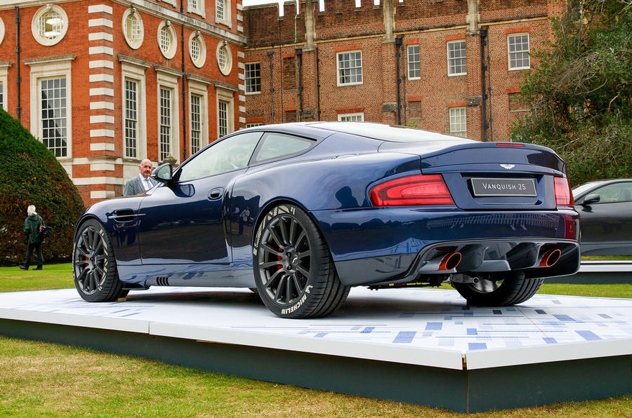 Callum Vanquish 25 at London concors - rear