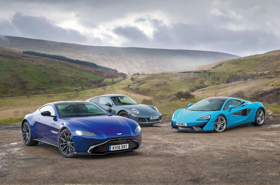 Aston Martin Vantage Vs Porsche 911 Vs Mclaren 540c