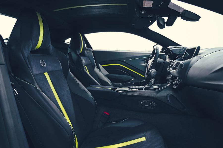 2019 Aston Martin Vantage AMR - interior