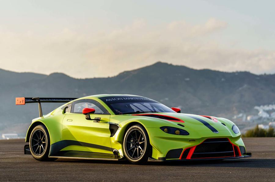 Aston Martin Vantage GTE is even prettier than the road auto
