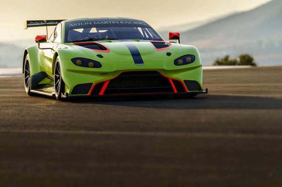Next year's Aston Martin Vantage GTE ready for reveal