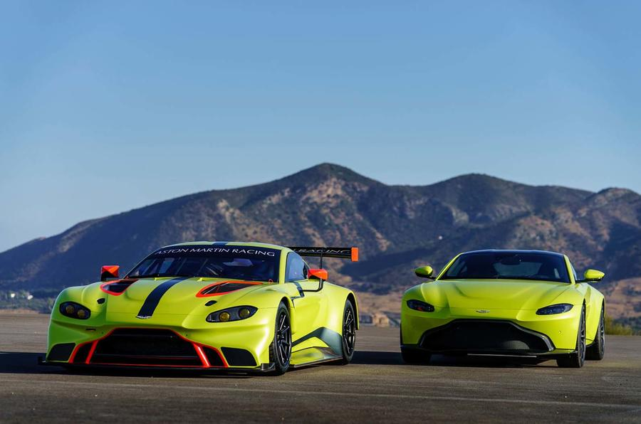 new aston martin vantage gte le mans racer 'proves transferable