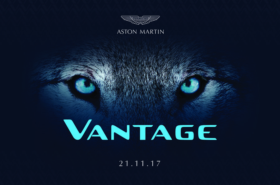 2018 Aston Martin Vantage reveal date confirmed