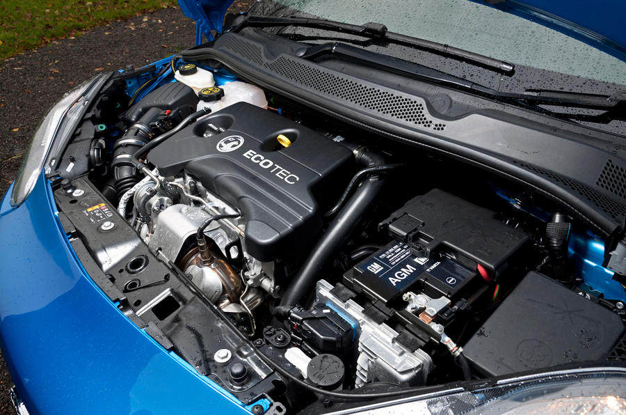 1.0-litre Vauxhall Adam engine