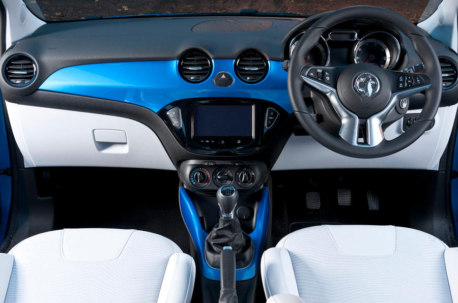 Vauxhall Adam dashboard
