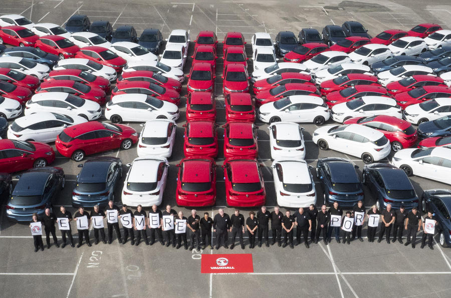 Vauxhall production