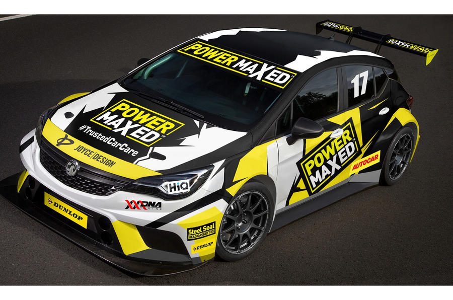 Vauxhall Astra to compete in British Touring Car Championship in ...