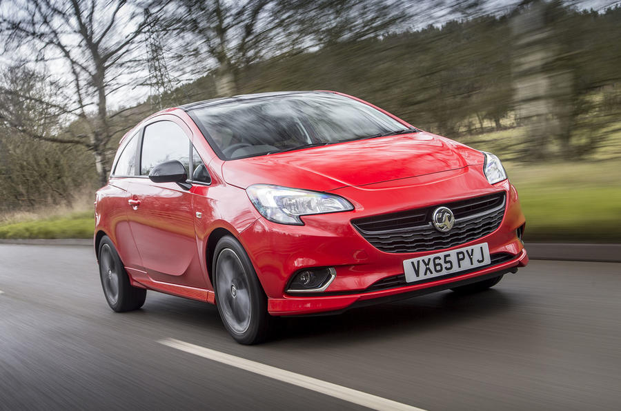 3 star Vauxhall Corsa 1.4T 150 Red Edition