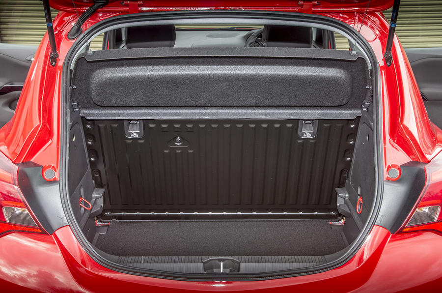 Vauxhall Corsa boot space
