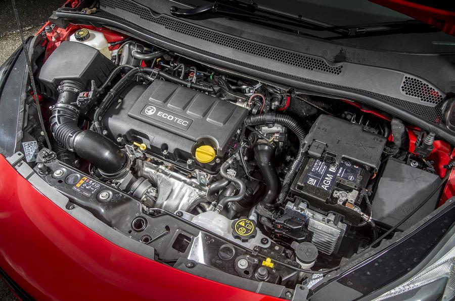 Vauxhall Corsa 1.4T 150 engine