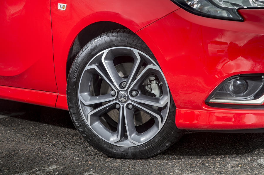 16in Vauxhall Corsa Red Edition alloys